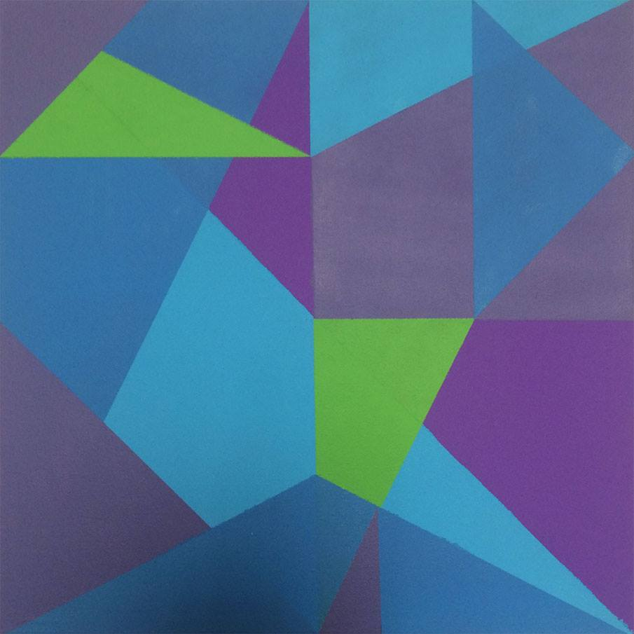 I H C - Perspective (Green blue purple)